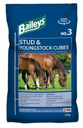 No. 3 Stud & Youngstock Cubes